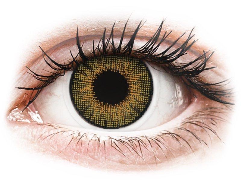 Air Optix Colors - Pure Hazel - nedioptrijske (2kom leća)