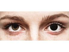 ColourVUE Crazy Lens - BlackOut - nedioptrijske (2 kom leća)