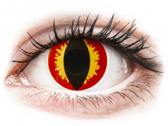 ColourVUE Crazy Lens - Dragon Eyes - nedioptrijske (2 kom leća)