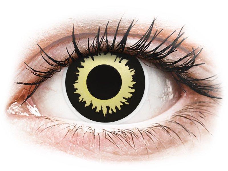 ColourVUE Crazy Lens - Eclipse - nedioptrijske (2 kom leća)
