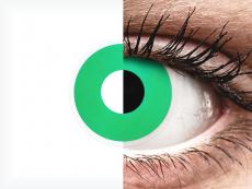 ColourVUE Crazy Lens - Emerald (Green) - nedioptrijske (2 kom leća)