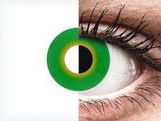 ColourVUE Crazy Lens - Hulk Green - nedioptrijske (2 kom leća)
