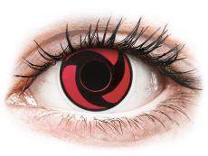 ColourVUE Crazy Lens - Mangekyu - nedioptrijske (2 kom leća)