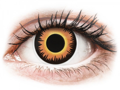 ColourVUE Crazy Lens - Orange Werewolf - nedioptrijske (2 kom leća)