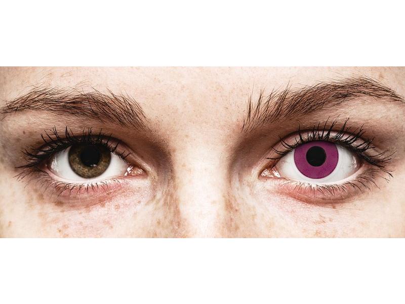 ColourVUE Crazy Lens - Purple - nedioptrijske (2 kom leća)