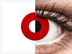 ColourVUE Crazy Lens - Red Devil - nedioptrijske (2 kom leća)