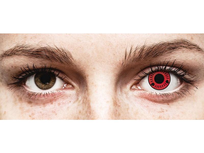 ColourVUE Crazy Lens - Sasuke - nedioptrijske (2 kom leća)