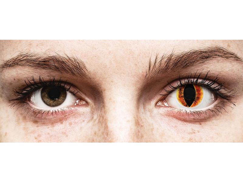 ColourVUE Crazy Lens - Saurons Eye - nedioptrijske (2 kom leća)