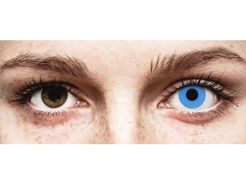 ColourVUE Crazy Lens - Sky Blue - nedioptrijske (2 kom leća)