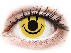 ColourVUE Crazy Lens - Smiley - nedioptrijske (2 kom leća)