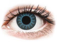 ColourVUE Crazy Lens - Solar Blue - nedioptrijske (2 kom leća)