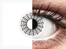 ColourVUE Crazy Lens - Spider - nedioptrijske (2 kom leća)