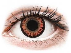 ColourVUE Crazy Lens - Vampire - nedioptrijske (2 kom leća)