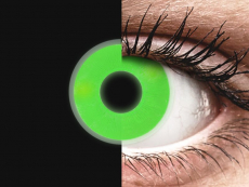 ColourVUE Crazy Glow Green - nedioptrijske (2kom leća)