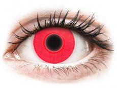 ColourVUE Crazy Glow Red - nedioptrijske (2kom leća)