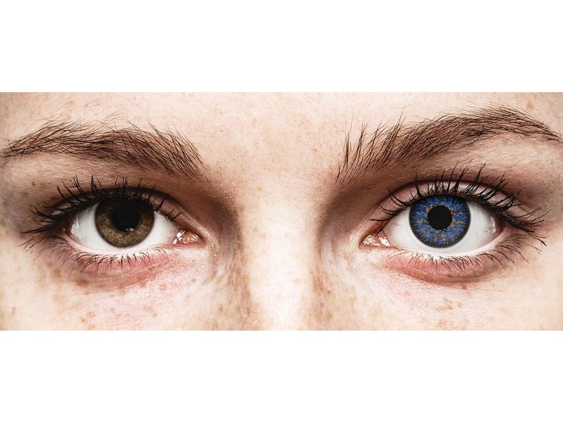 ColourVUE Glamour Blue - nedioptrijske (2kom leća)