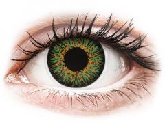 ColourVUE Glamour Green - nedioptrijske (2kom leća)