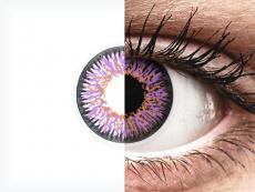 ColourVUE Glamour Violet - nedioptrijske (2kom leća)