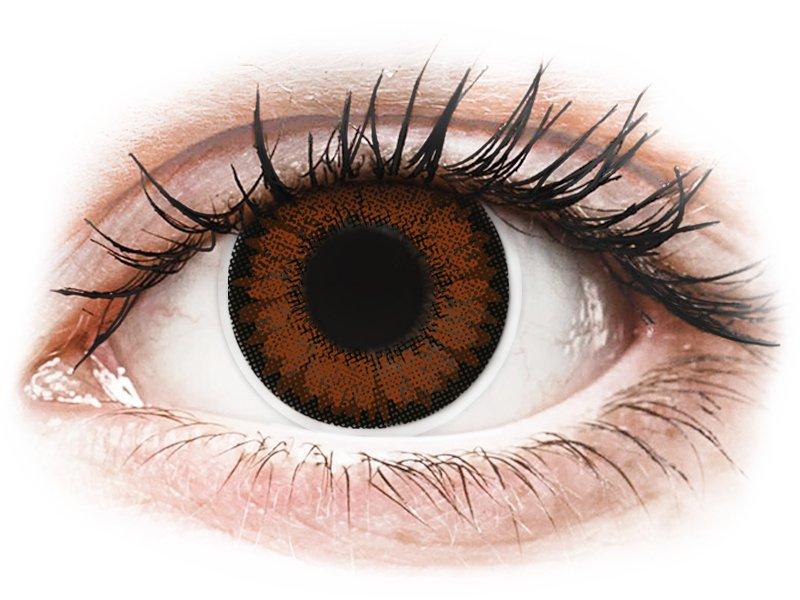 ColourVUE BigEyes Pretty Hazel - nedioptrijske (2kom leća)