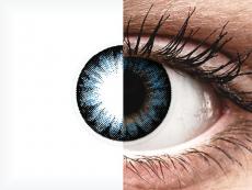 ColourVUE BigEyes Cool Blue - nedioptrijske (2kom leća)