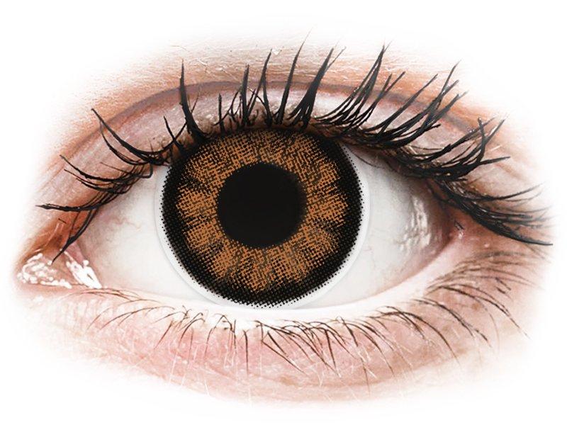 ColourVUE BigEyes Sexy Brown - nedioptrijske (2kom leća)