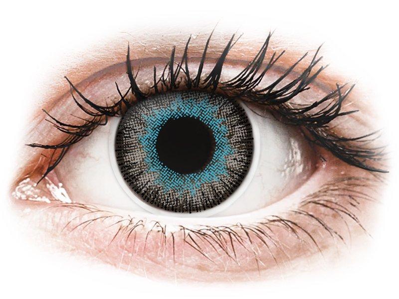 ColourVUE Fusion Blue Gray - nedioptrijske (2kom leća)