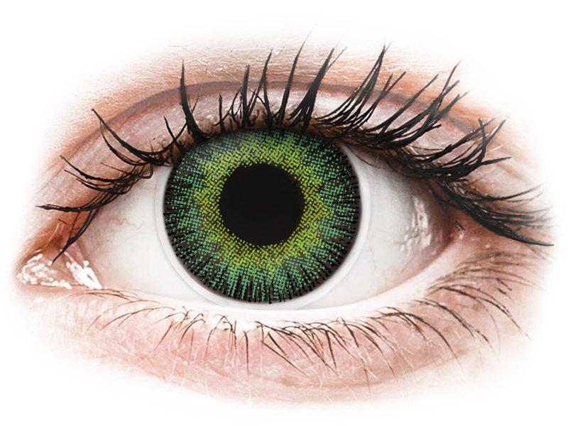 ColourVUE Fusion Green Yellow - nedioptrijske (2kom leća)