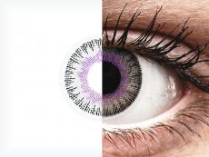 ColourVUE Fusion Violet Gray - nedioptrijske (2kom leća)