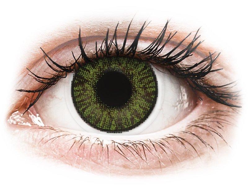 FreshLook ColorBlends Green - dioptrijske (2 kom leća)