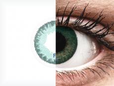 FreshLook Dimensions Carribean Aqua - dioptrijske (6 kom leća)