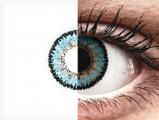 ColourVUE 3 Tones Aqua - nedioptrijske (2kom leća)