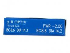 Air Optix plus HydraGlyde (3kom leća)