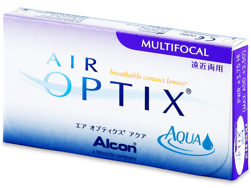 Air Optix Aqua Multifocal (6komleća)
